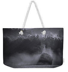 Weekender Tote Bag featuring the photograph Morning Sun Rising Fog Cades Cove by Dan Sproul