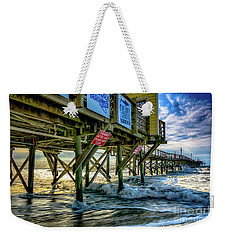 Morning Sun Under The Pier Weekender Tote Bag