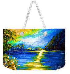 Morning Sunrise 9.6 Weekender Tote Bag