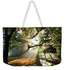 Morning Sunrise In Hampden Park Weekender Tote Bag
