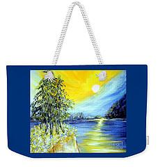 Morning Sunrise. Life Is Beautiful Weekender Tote Bag