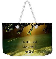 Morning Sunshine Weekender Tote Bag by Leea Baltes