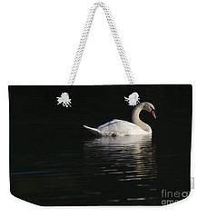 Morning Swan Weekender Tote Bag