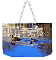 Morning Swim Weekender Tote Bag
