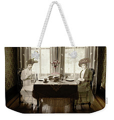 Morning Tea Weekender Tote Bag