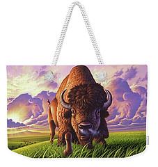 Morning Thunder Weekender Tote Bag