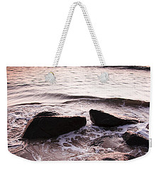 Weekender Tote Bag featuring the photograph Morning Tide by Jorgo Photography - Wall Art Gallery