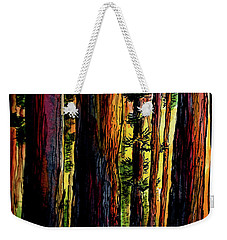 Morning Trees Weekender Tote Bag