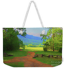 Morning View Weekender Tote Bag