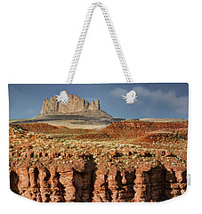 Weekender Tote Bag featuring the photograph Morning View by Nikolyn McDonald