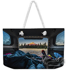 Morning Views Weekender Tote Bag by Alpha Wanderlust