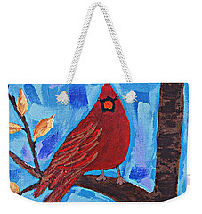 Morning Visit Weekender Tote Bag
