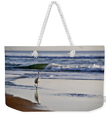 Morning Walk At Ormond Beach Weekender Tote Bag by Steven Sparks