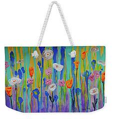 Morning Wildflowers Weekender Tote Bag