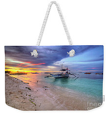 Weekender Tote Bag featuring the photograph Morningtide 2.0 by Yhun Suarez