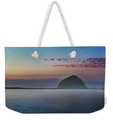 Moro Bay Calm  Pano Weekender Tote Bag