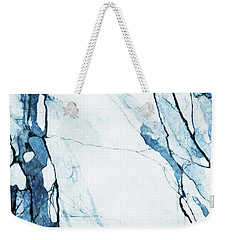 Moroccan Blues Weekender Tote Bag by Uma Gokhale