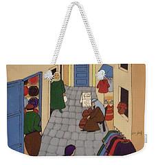 Moroccan Street Scene Weekender Tote Bag