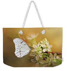 Morpho Luna  Weekender Tote Bag by Eva Lechner