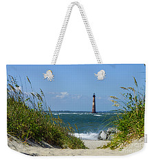 Morris Island Lighthouse Walkway Weekender Tote Bag