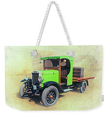 Weekender Tote Bag featuring the photograph Morris by Keith Hawley