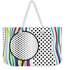 Morris Pop-art Weekender Tote Bag