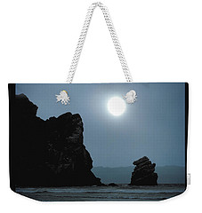 Morro Bay Sea Rocks And Sun Weekender Tote Bag
