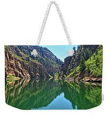 Morrow Point Reservoir Weekender Tote Bag