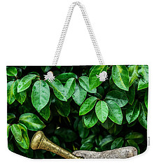 Mortar And Pestle Weekender Tote Bag