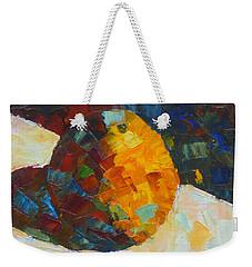 Mosaic Citrus Weekender Tote Bag by Susan Woodward
