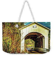 Mosby Creek Bridge Weekender Tote Bag