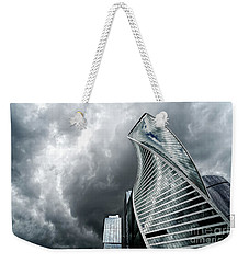 Moscow City And Storm Weekender Tote Bag