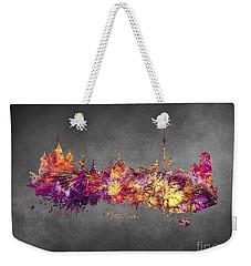 Moscow Weekender Tote Bag by Justyna JBJart