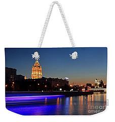 Moscow River Weekender Tote Bag