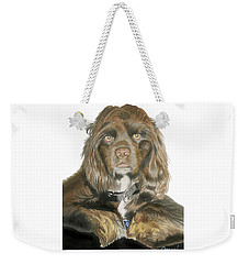 Mose - Cocker Spaniel Weekender Tote Bag
