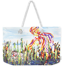 Moses In The Rushes Weekender Tote Bag