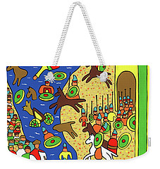 Moses Parting The Red Sea Weekender Tote Bag
