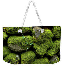 Weekender Tote Bag featuring the photograph Moss And Ivy by Mike Eingle