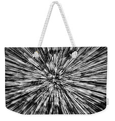 Moss On Rock Wall Abstract #2 Weekender Tote Bag