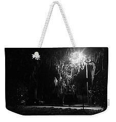 Moss Park Black And White  Weekender Tote Bag