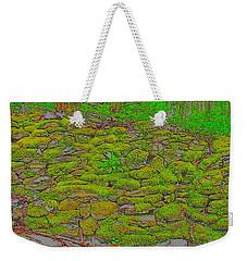 Moss Wall Weekender Tote Bag