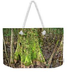 Mossy Cypress Weekender Tote Bag