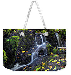 Emerald Cascades Weekender Tote Bag