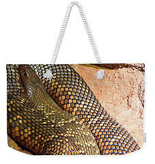 Weekender Tote Bag featuring the photograph Most Venomous Snake  by Miroslava Jurcik
