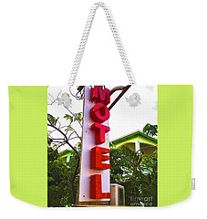 Motel Weekender Tote Bag by Beth Saffer