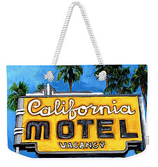 Motel California Weekender Tote Bag