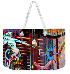 Motel Variations Night Of The Flyng Coyote Weekender Tote Bag
