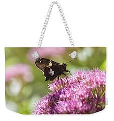 Moth Weekender Tote Bag by Nikki McInnes