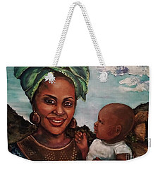 Mother And Child 2017 Weekender Tote Bag