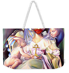 Mother And Child Reunion Weekender Tote Bag by Patrick Anthony Pierson